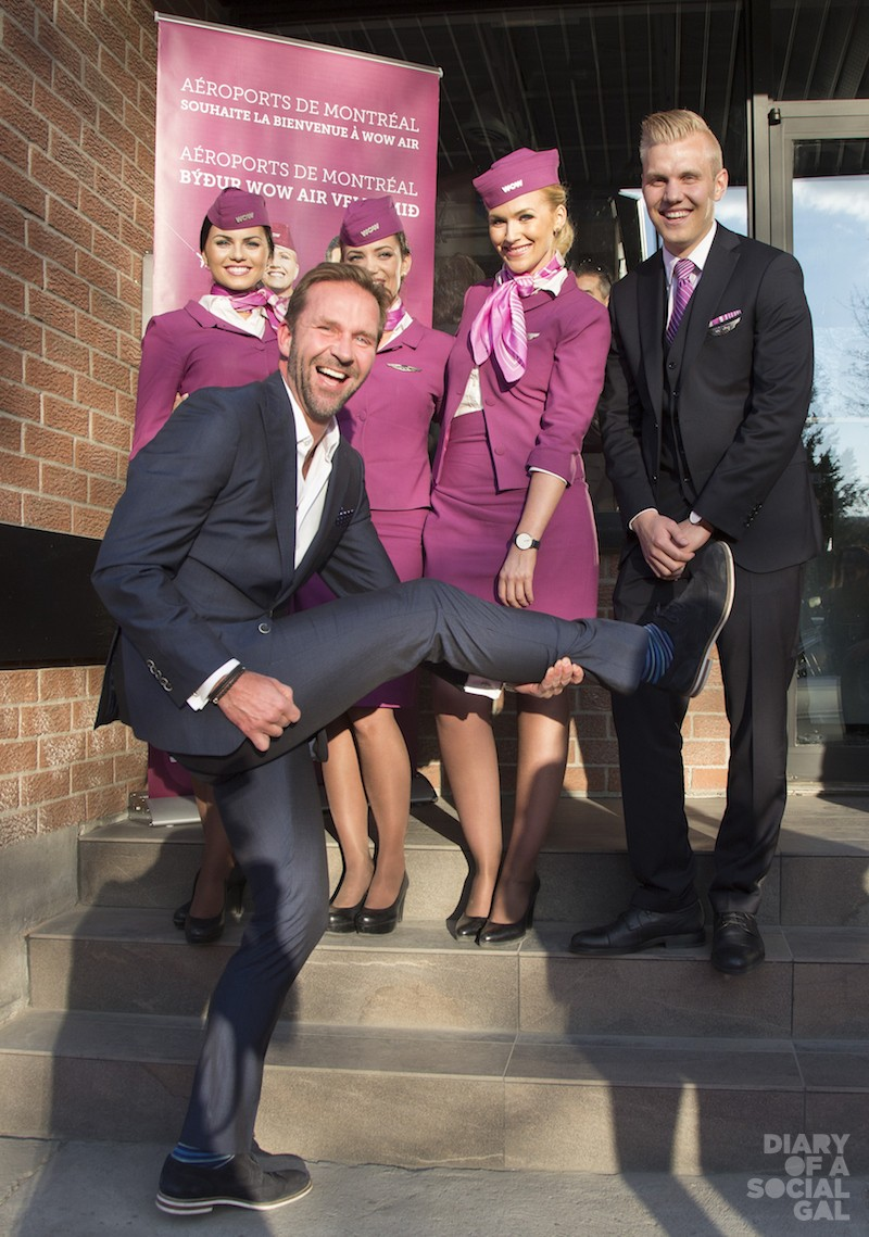 KICKING IT UP FOR HIS WOW LAUNCH: Wow Air founder / CEO SKÚLI MOGENSEN.