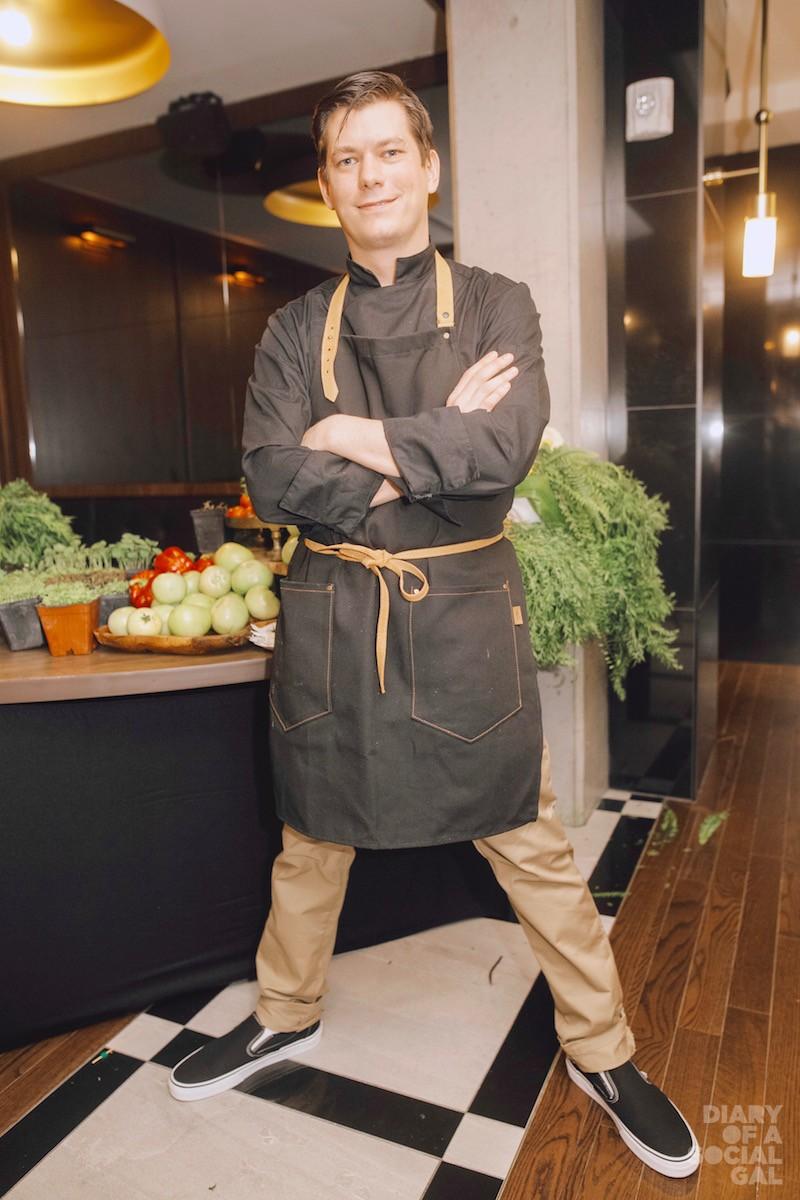 CHEFTASTIC: Celebrity chef DEREK BOCKING.