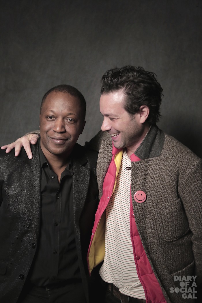 GOOD BROMANCE: HERBY MOREAU and ADAM COHEN.