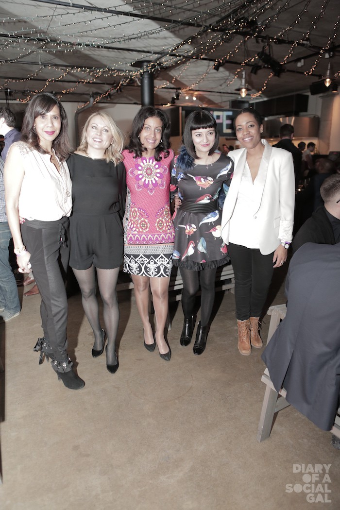 GIRL POWER, KANPE STYLE: Personalities ISABELLE RACICOT, MITSOU GELINAS, minister and KANPE cofounder DOMINIQUE ANGLADE, Apple exec MIA PARANG and PR powerhouse MARTINE ST-VICTOR.
