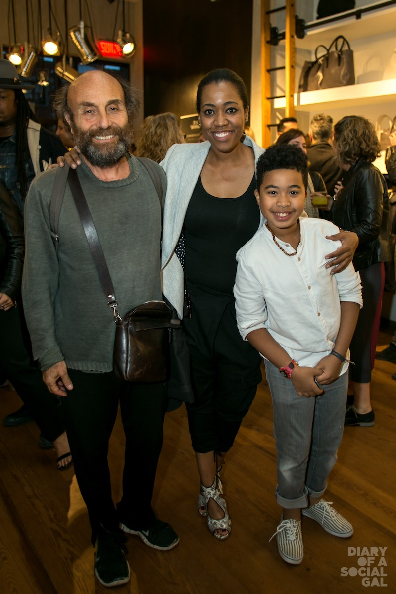 AWWW: M0851 founder / designer / CEO FREDERIC MAMARBACHI, PR/ journo gal MARTINE ST-VICTOR and nephew TRISTAN ST-VICTOR.