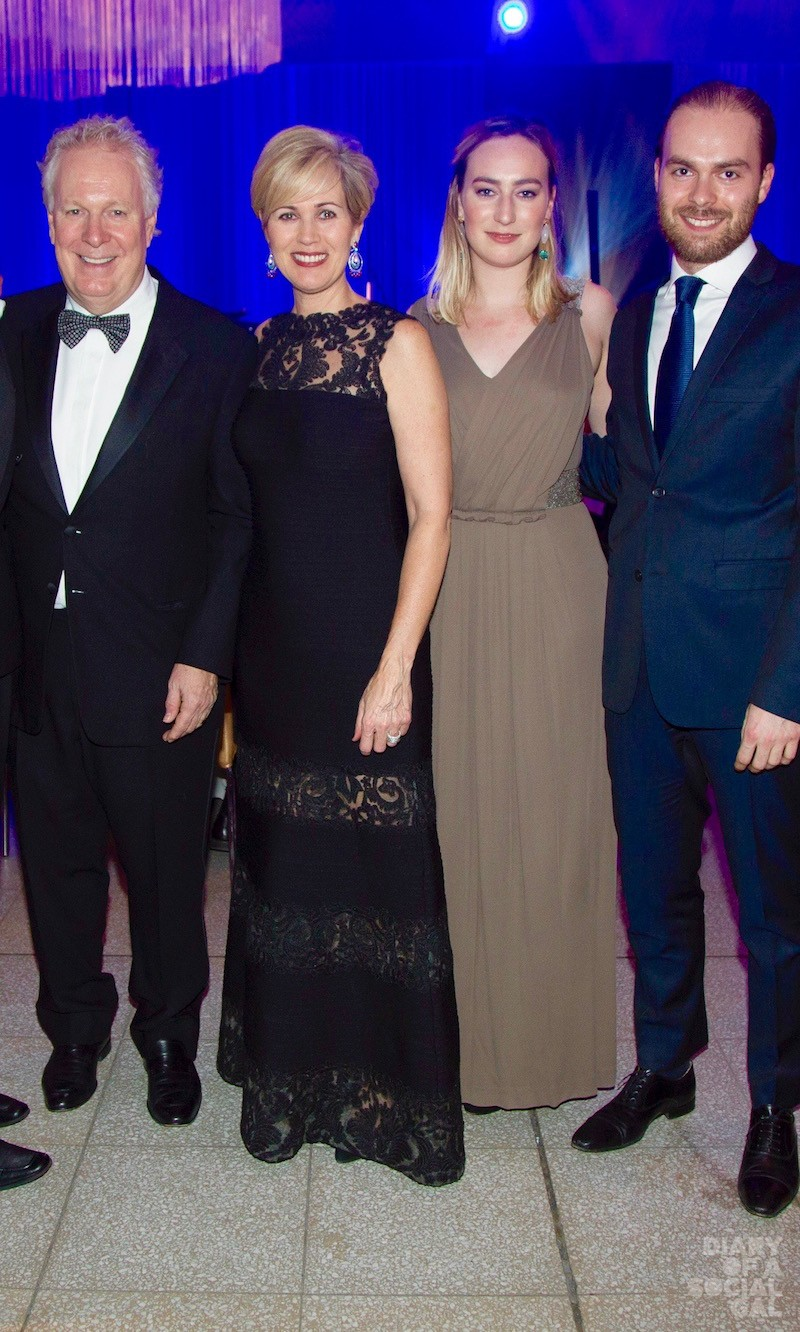 ALL IN THE FAB FAMILY: Former rockstar premier JEAN CHAREST, wife MICHÈLE DIONNE, daughter ALEXANDRA and son ANTOINE.