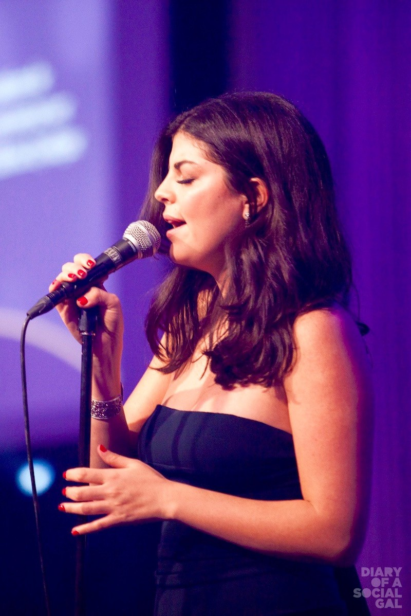 "THE NIKKI FACTOR: Home-grown songstress NIKKI YANOFSKY sings a mesmeric rendition of the late Leonard Cohen's ""Hallelujah"" in Mila Mulroney's honour."