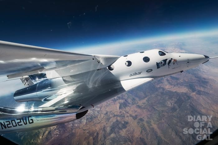 The VMS Eve (Virgin Mother Ship) carrys VSS Unity (Virgin Spaceship) for its first flight ever over Mojave, CA on Thursday September 8, 2016.