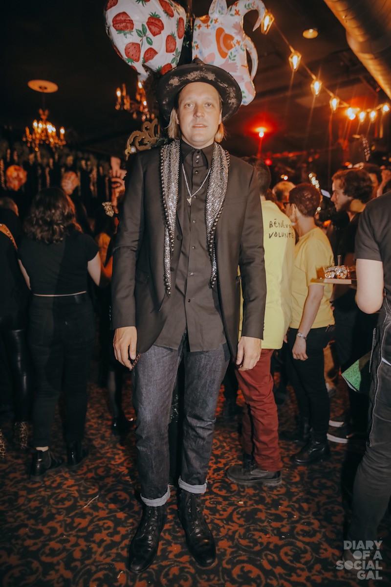 ON SCENE: Arcade Fire's WIN BUTLER.
