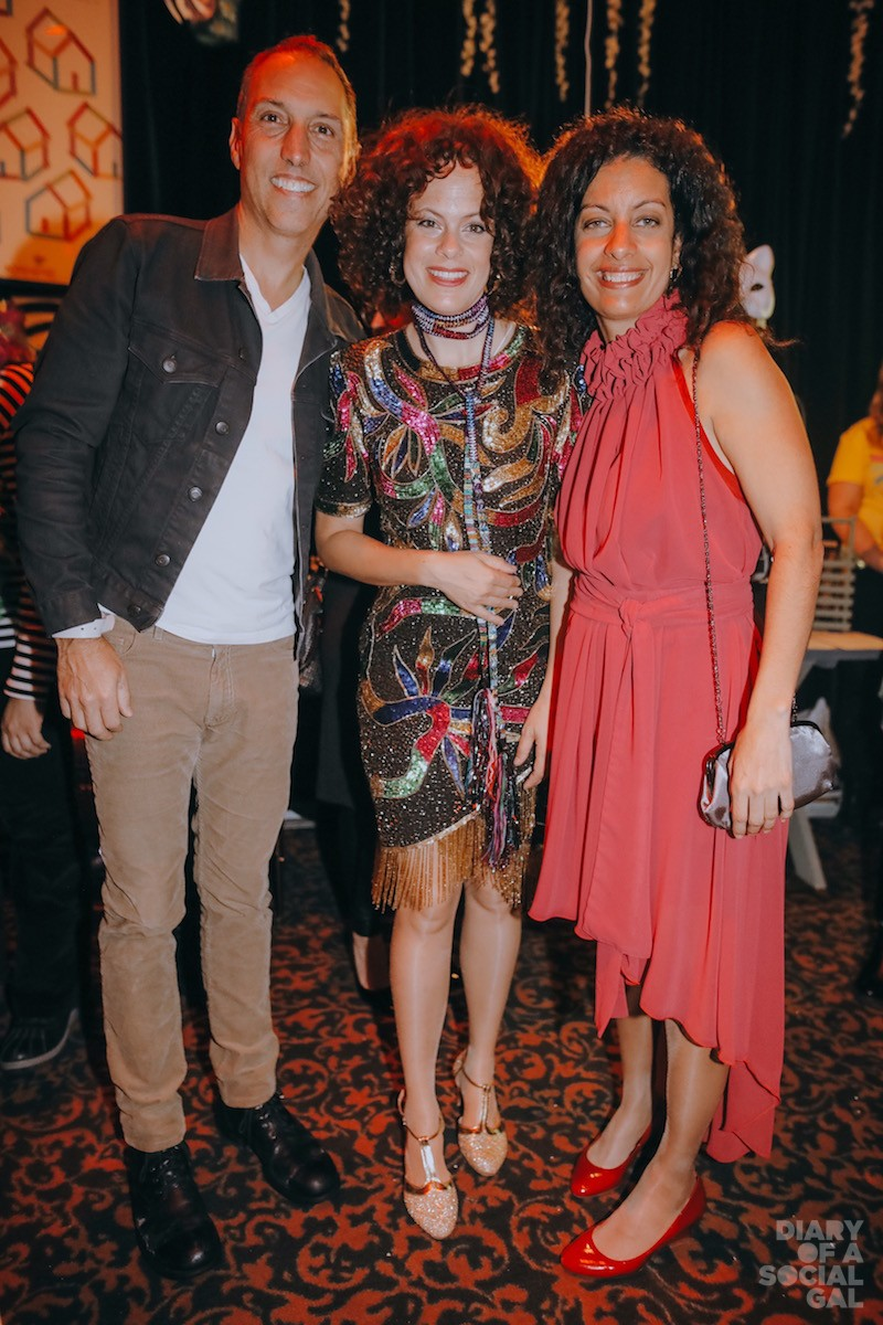 DIFFERENCE MAKERS: Sid Lee co-founder / chair Jean-FRANÇOIS BOUCHARD with KANPE Foundation co-founders, Arcade Fire's RÉGINE CHASSAGNE and Quebec minister DOMINIQUE ANGLADE.