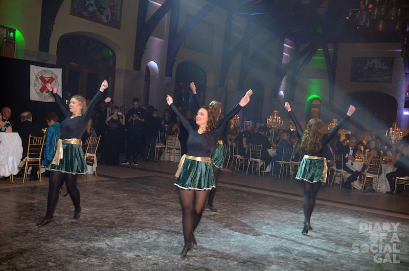 CAN YOU FEEL THE FAB? Dancers dazzle at the annual St. Pat's Charity Ball.