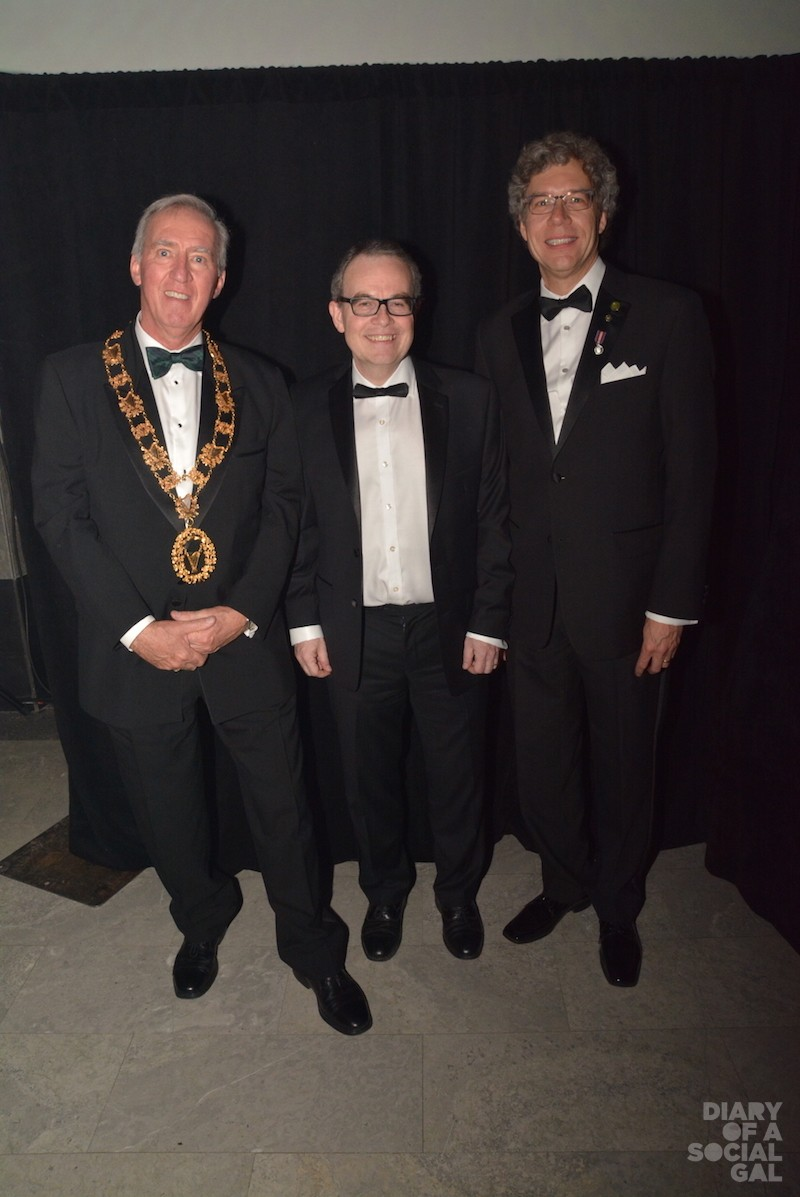 BIG 3: St. Patrick's Society president SCOTT PHELAN, new Irish ambassador to Canada JIM KELLY, and borough mayor RUSSELL COPEMAN.