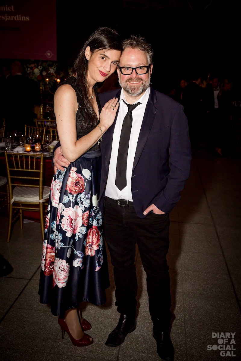 LOVE IS IN THE AIR: MMODE exec director DEBBIE ZAKAIB poses with husband, XPND Capital president ALEXANDRE TAILLEFER.