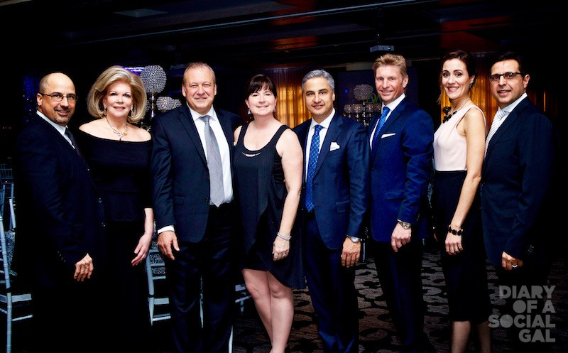FOUNDATION OF IT ALL:  Board members JACQUES FERRARO, SUE DABROWSKI, SAL MARIANI, SOPHIE QUEVILLON, DR. PASQUALE FERRARO, EDUARDO MINICOZZI, ANNE RIBY, FRANK TROMBONE.