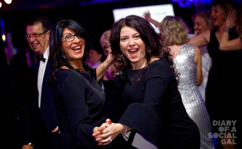 OH YEAH MOMENT: GIOVANNA GIORDANO and Quebec Liberal Party member FILOMENA ROTIROTI.