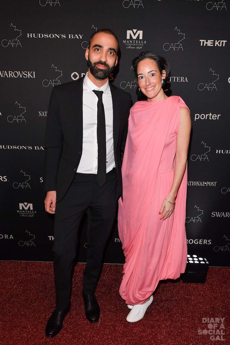 ESSENCE OF SSENSE: SSENSE co-founder / COO BASSEL ATALLAH and womens buying director BRIGITTE CHARTRAND.