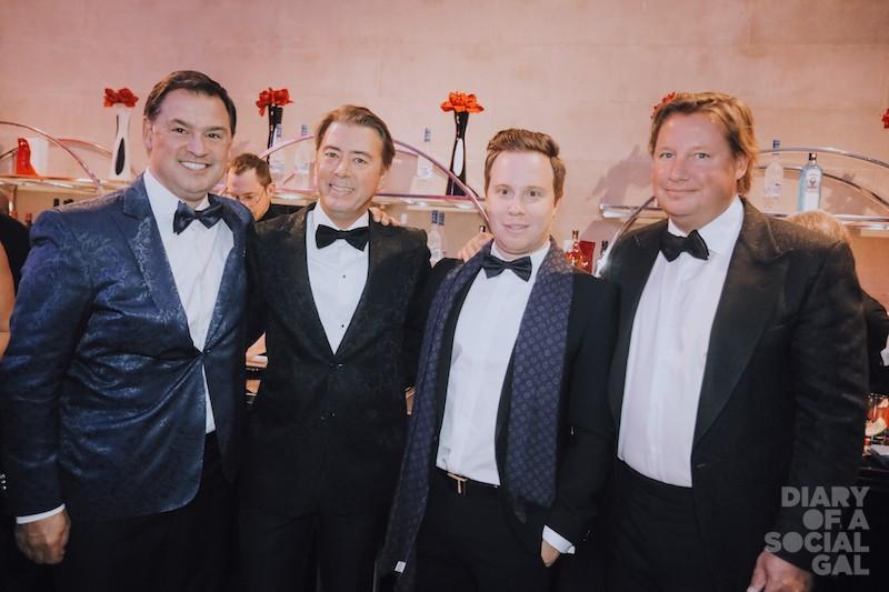 "BEATLES OF THE BALL: Novacap president/ CEO PASCAL ""PAUL"" TREMBLAY Kevlar's PHILIPPE  ""JOHN"" MORIN, DAVID ""GEORGE"" DELLI FRAINE, and Stingray tops ERIC ""RINGO"" BOYKO."