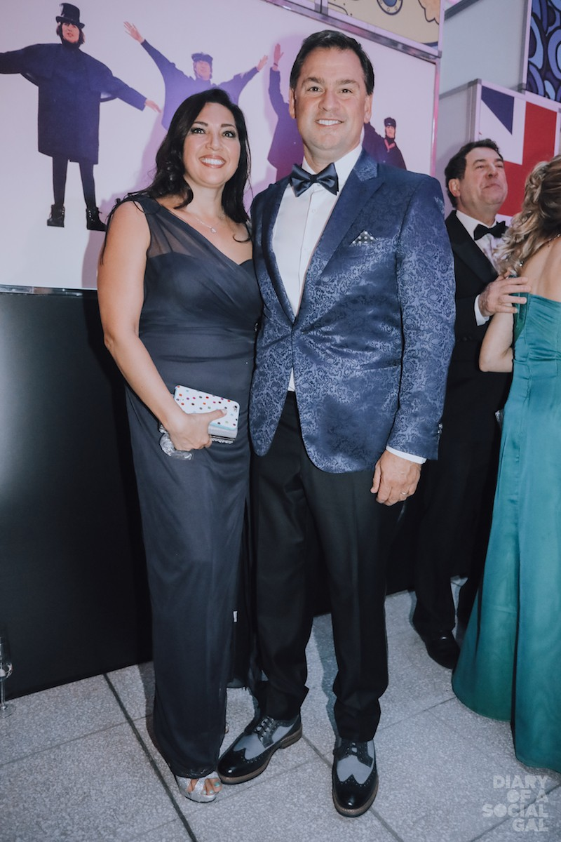 POWER PAIR: Event co-chair Novacap president/ CEO PASCAL TREMBLAY and wife, ANIK CHAMBERLAND.