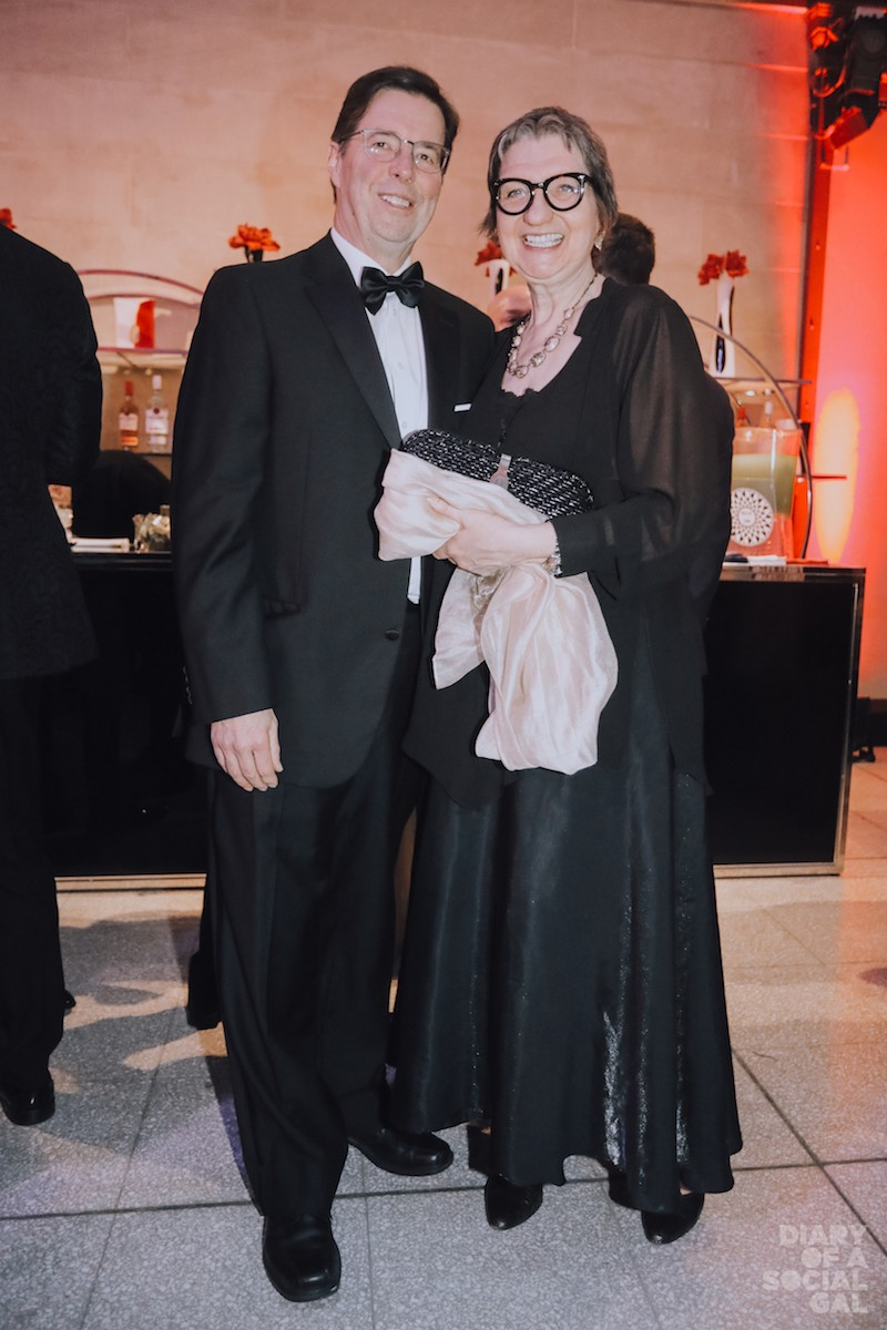 BLACK TIE FABULOUS: DAVE CLARKE and wife, Montreal Gazette editor-in-chief LUCINDA CHODAN.
