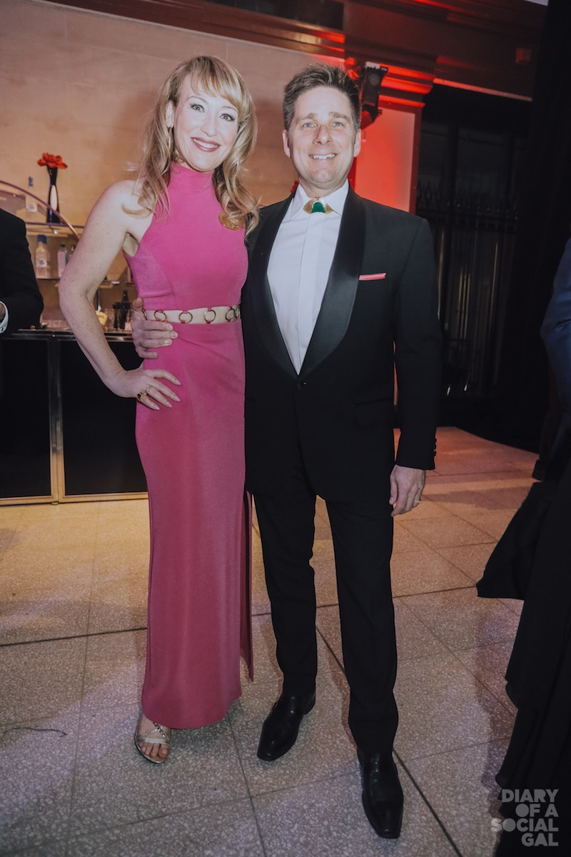 SO WELL TURNED OUT: NATHALIE SCHWARTZ DÉCARIE and husband, Triotech's CHARLES DÉCARIE, both in GEORGES SCHWARZ BLING.