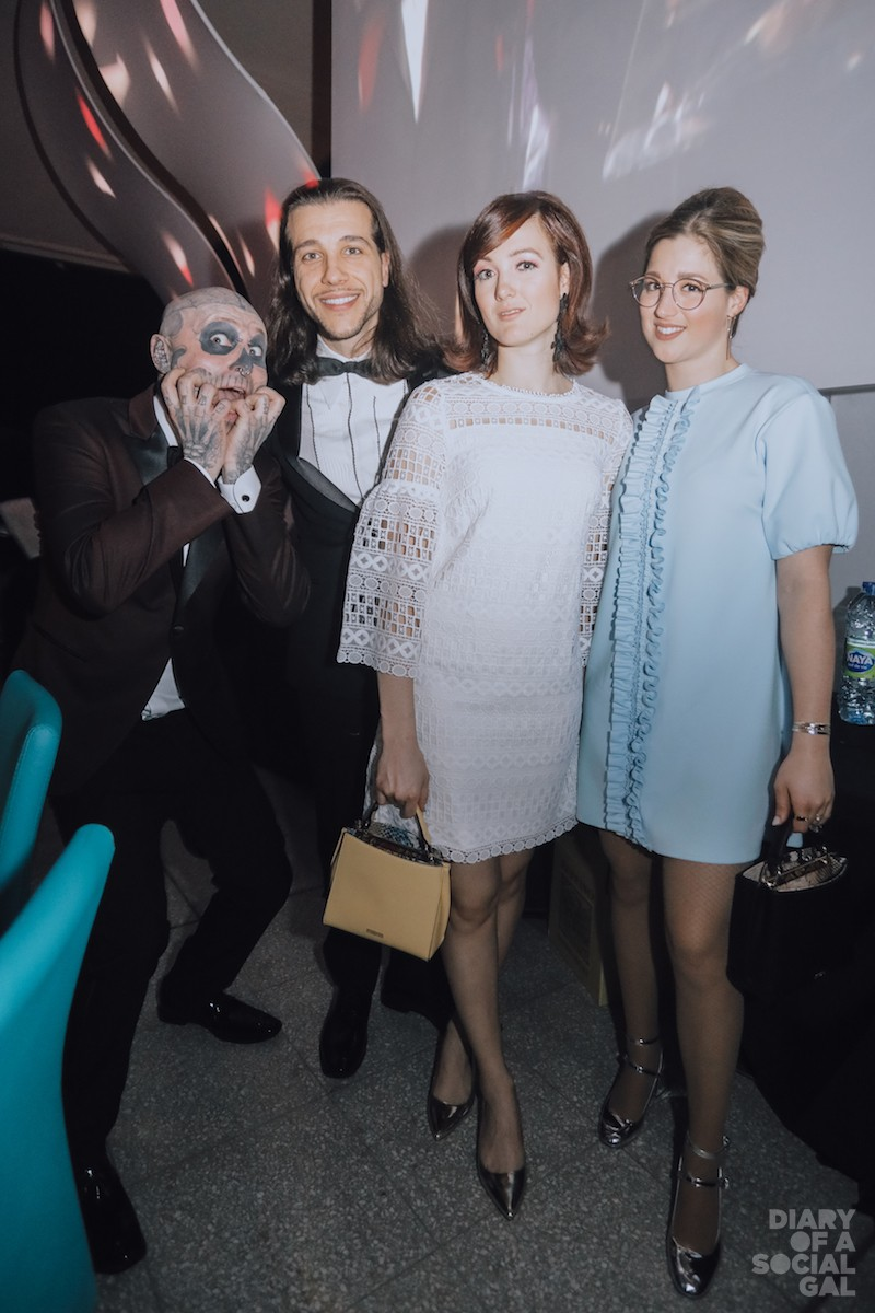 SCARY GOOD STARPOWER: ZOMBIE BOY, superagent KARIM LEDUC, and Olympic sisters CHLOÉ DUFOUR-LAPOINTE and MAXIME DUFOUR-LAPOINTE.