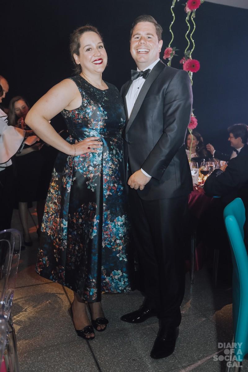 BRINGING THE SOCIAL SMILES! National PR exec CHRISTINE BOIVIN and husband, CATSIMA's SIMON DUPÉRÉ.
