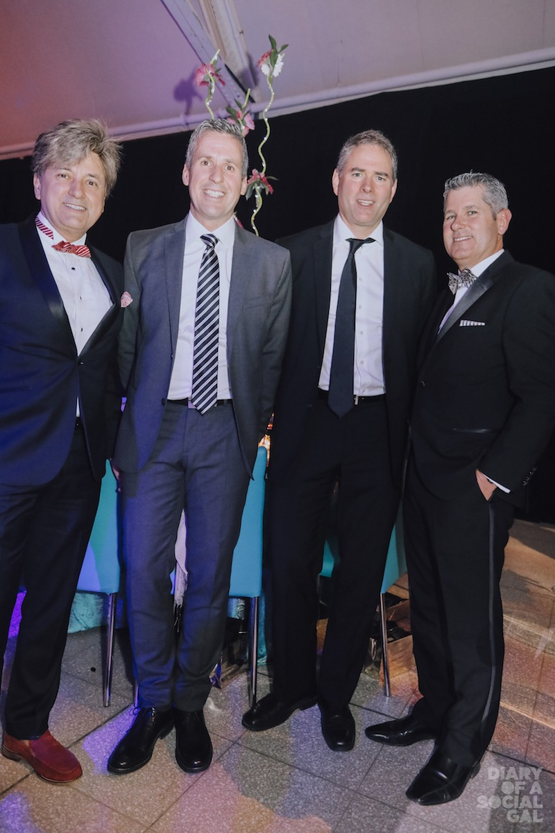 POWERBROKERS: Great-West Life's ANTHONY CARDONE, Financière Éthicor's GUY OUELLETTE, BFL Canada Consulting Services's DAVID VANASSE, and RBC Royal Bank, Quebec Headquarters' MARTIN THIBODEAU.