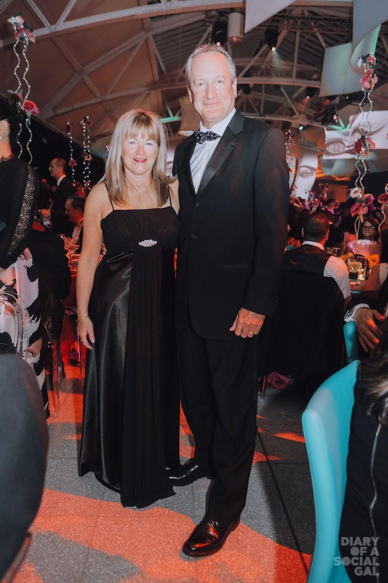 MANULIFE MAGIC: LOUISE BEAUREGARD and husband Manulife president/ CEO RICHARD PAYETTE.