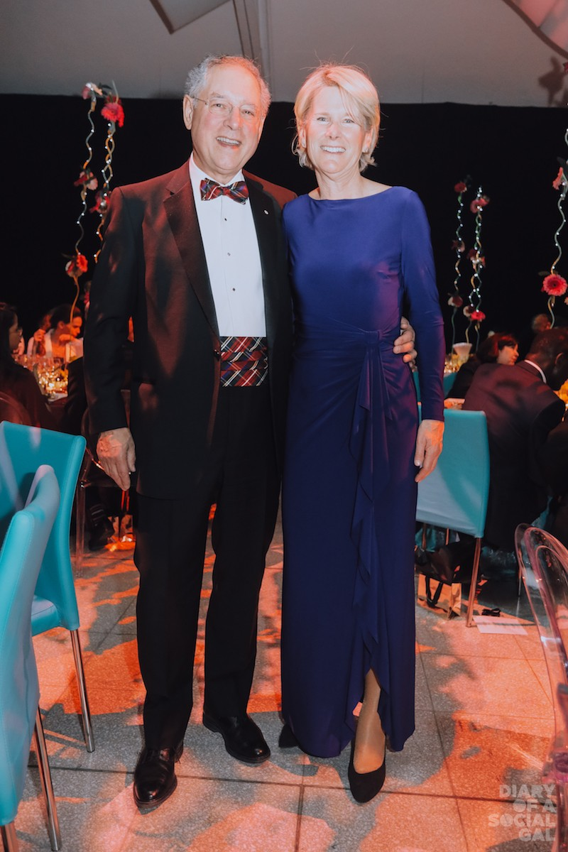 TEAM TD: TD Bank's BRIAN M. LEVITT and wife, PORTIA LEGGAT.