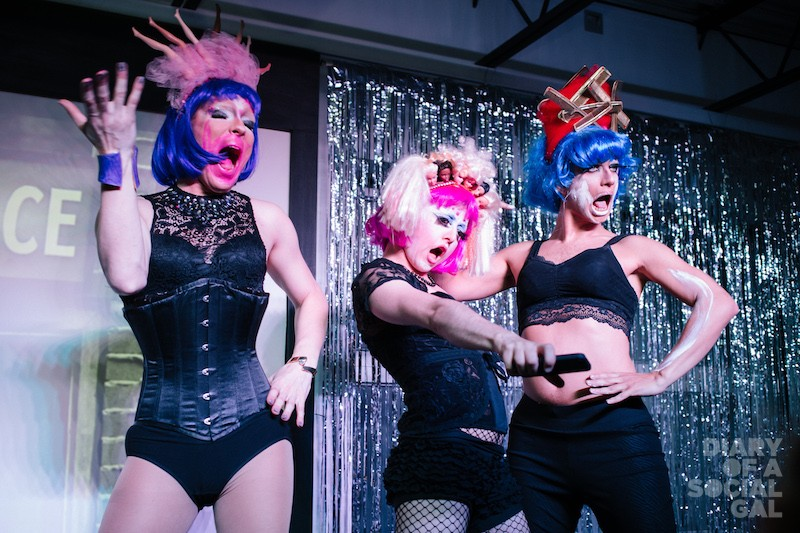 NEXT LEVEL NIGHT: House of Laureen's CONNIE LINGUA, UMA GAWD and DOT DOT DOT.