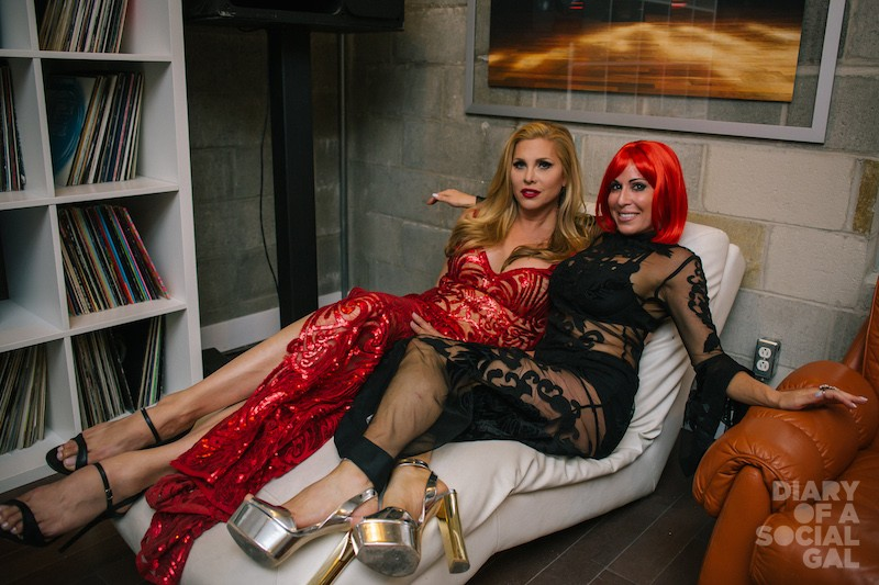 GAL CHAT: Diary's JENN CAMPBELL, host / featured performer CANDIS CAYNE.