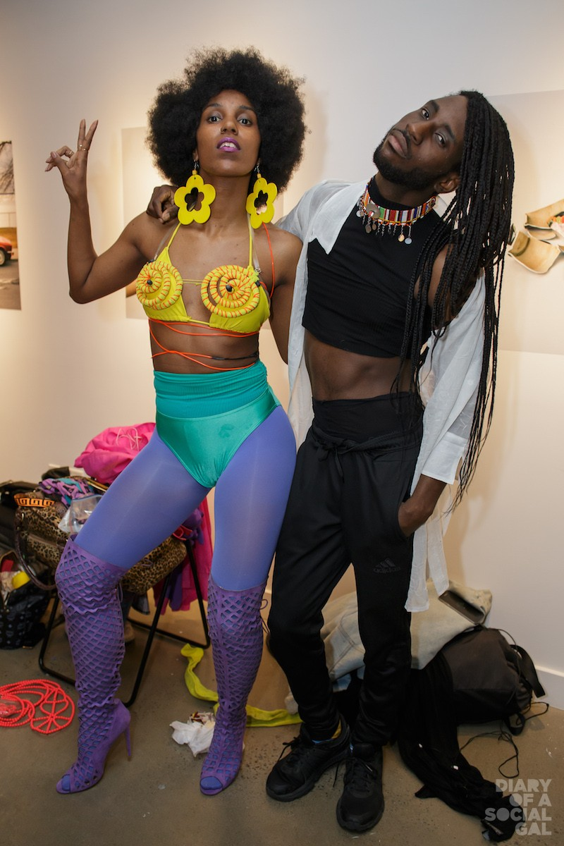 POSE PERFECT: Dance troupe WAACKEISHA AND FRIENDS.