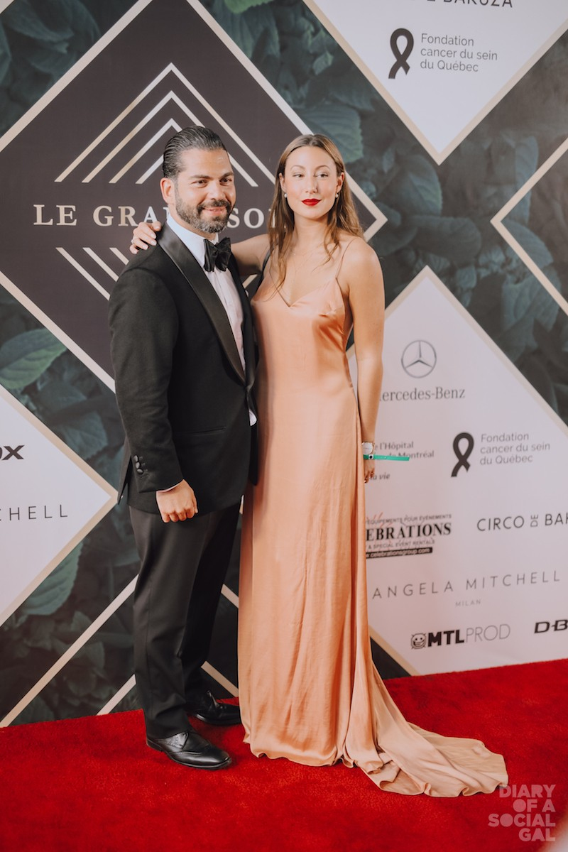 RED CARPET WOW: MOE TAWIL, JESSIKA DUFOUR.