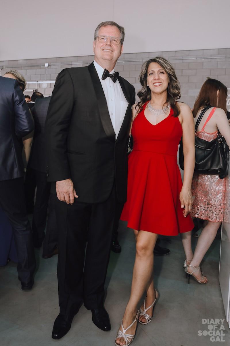 GEARING UP! Ritz-Carlton Montreal tops ANDREW TORRIANI, wife ARLENE TORRIANI.