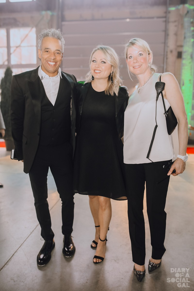 FAMILY TIME: Daze's IOHANN MARTIN, wife and Breast Cancer Foundation spokesperson, wife MITSOU GELINAS, her cuz.