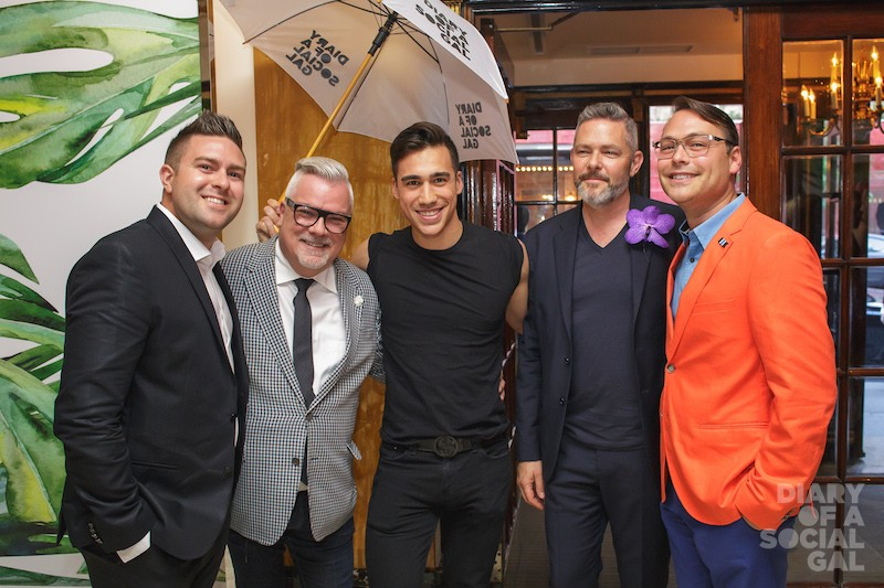 TEAM HOLTS X TEAM DIARY X TEAM RITZ: Holt Renfrew MTL's MARC-ANDRE GAGNE, Holts DIVISIONAL VPNORMAND CIARLO, DIARY DAVE, DAVID LAPIERRE,