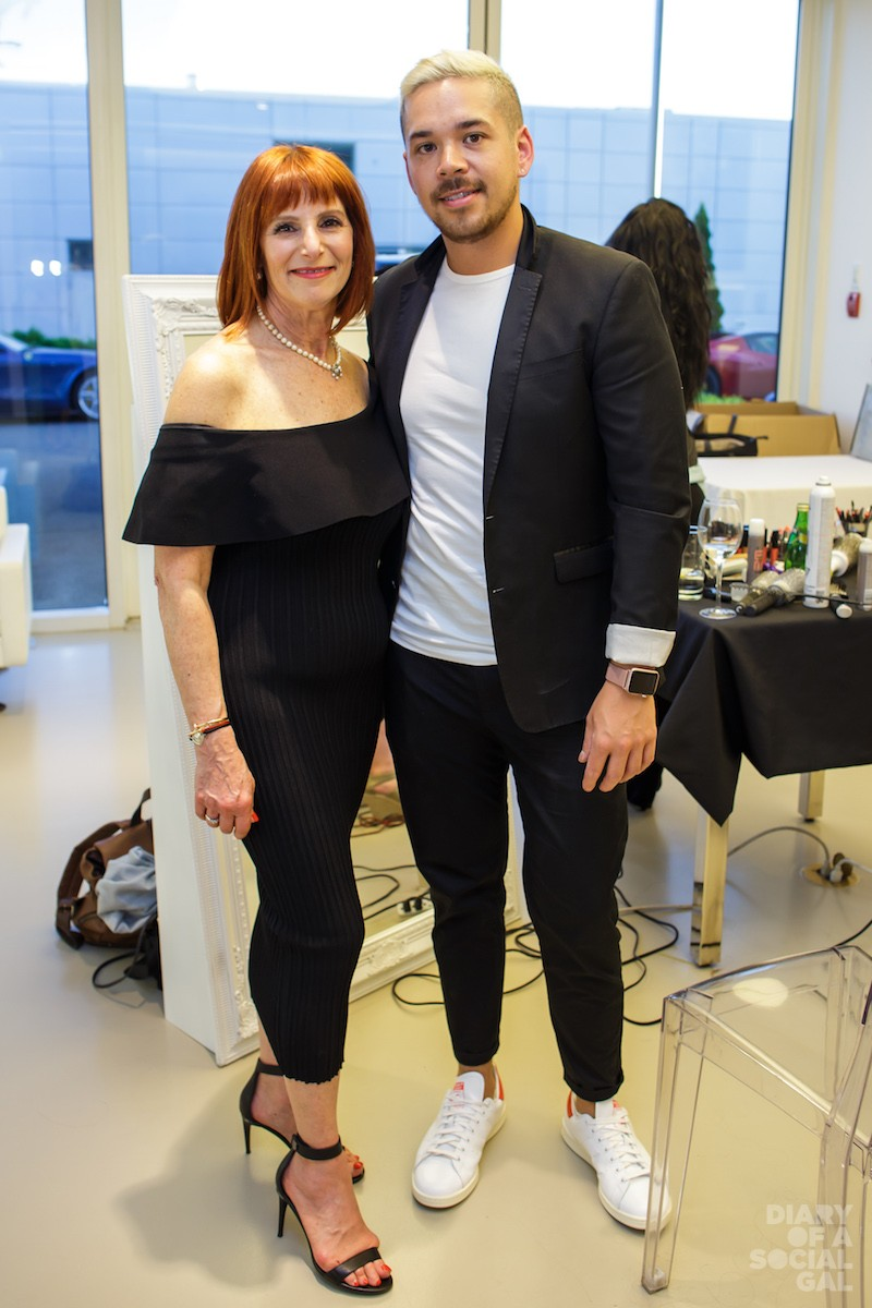 ST-LAURENT COIFFURE BRINGS THE  TOUCH-UPS. IRENE WEINSTEIN YOU ROCK!
