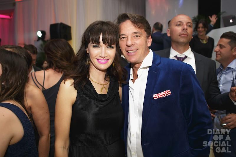 TWO X TOURISM: MELANIE CHARBONNEAU, husband, Montreal tourism CEO YVES LALUMIERE.
