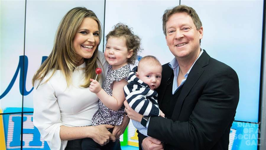 THE PERFECT SAVANNAH GUTHRIE AND HER BEAUTIFUL FAMILY.