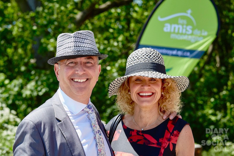 MEET THE MATCHIES: Les amis governor EMILIO B. IMBRIGLIO, president / CEO, Raymond Chabot Grant Thornton, and wife, LYNE TOURIGNY.