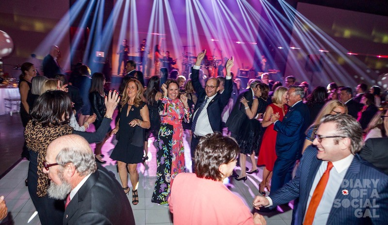THE CHACRA EFFECT: Over 600 guests feel the pull of Paul Chacra to the dance floor.