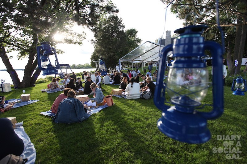 PERFECT PICNIC UNDER THE STARS, GREY GOOSE STYLE.
