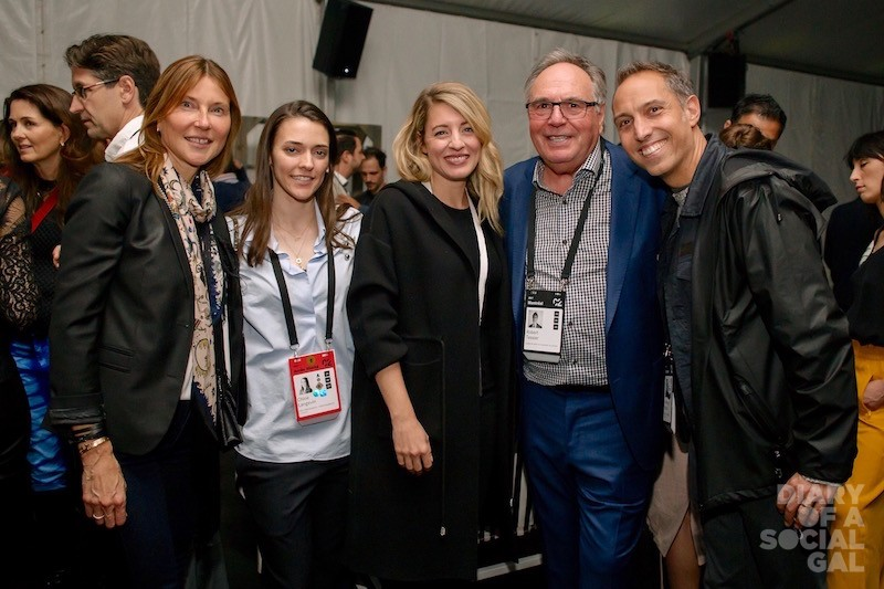 POWER PLAYERS: Videotron president / CEO MANON BROUILLETTE, C2 VP partnerships CHLOE LANGEVIN, Canadian heritage minister MÉLANIE JOLY, Caisse de dépôt et placement board chair ROBERT TESSIER, and SID LEE chair / co-founder and C2 board chair JEAN-FRANÇOIS BOUCHARD.