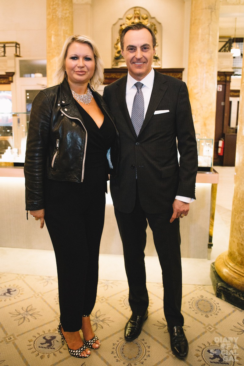 BIRKS BRIGADE: VP Birks Brand and CMO EVA HARTLING, Birks Group president /CEO JEAN-CHRISTOPHER BÉDOS.