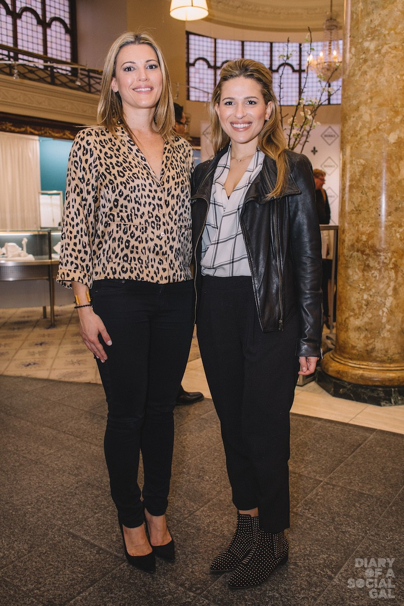 SISTERS IN STYLE: Antonopoulos Group's ANNA ANTONOPOULOS, MARIA ANTONOPOULOS.