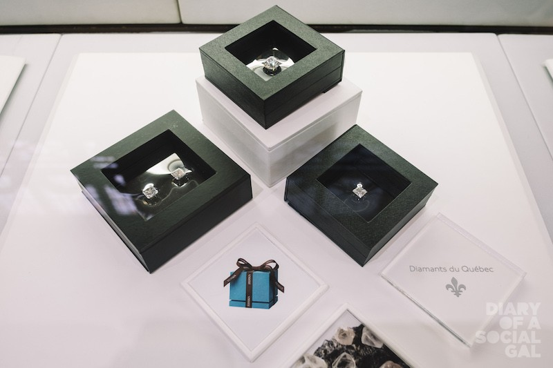 HISTORIC PREVIEW OF THE FIRST 100 QUEBEC CERTIFIED DIAMONDS FROM THE RENARD MINE (STORNOWAY).
