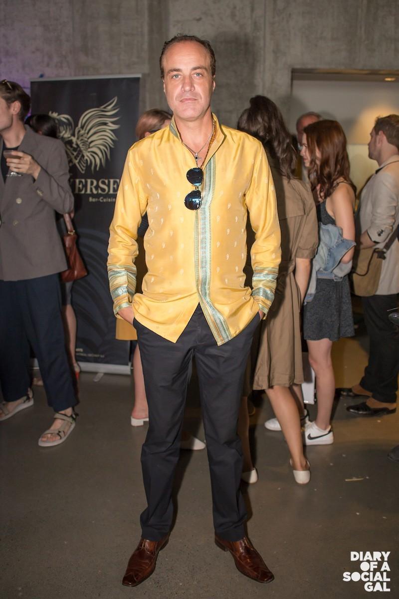 AS FAB AS EVER: Fashion designer YVES JEAN LACASSE,
